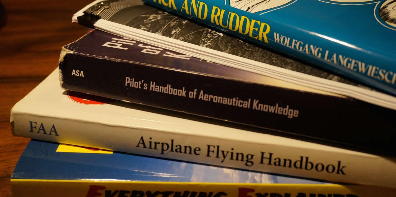 FLIGHT TRAINING BOOKS